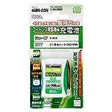オーム電機 コードレス電話機用充電池(3.6V・700mAh) TEL-B0009H