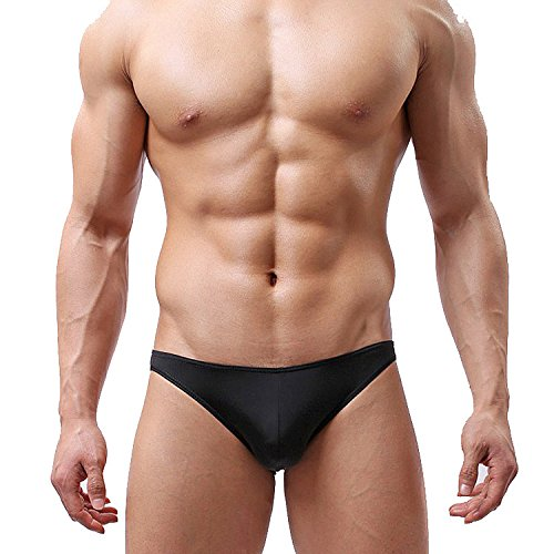 ZhaoZhe 男性下着 男性用 メンズ下着 パンツ 超セクシー メンズ ビキニ 大きいサイズ 男性肌着 ビキニブリーフ スポーツブリーフ 無地 3D立体構造