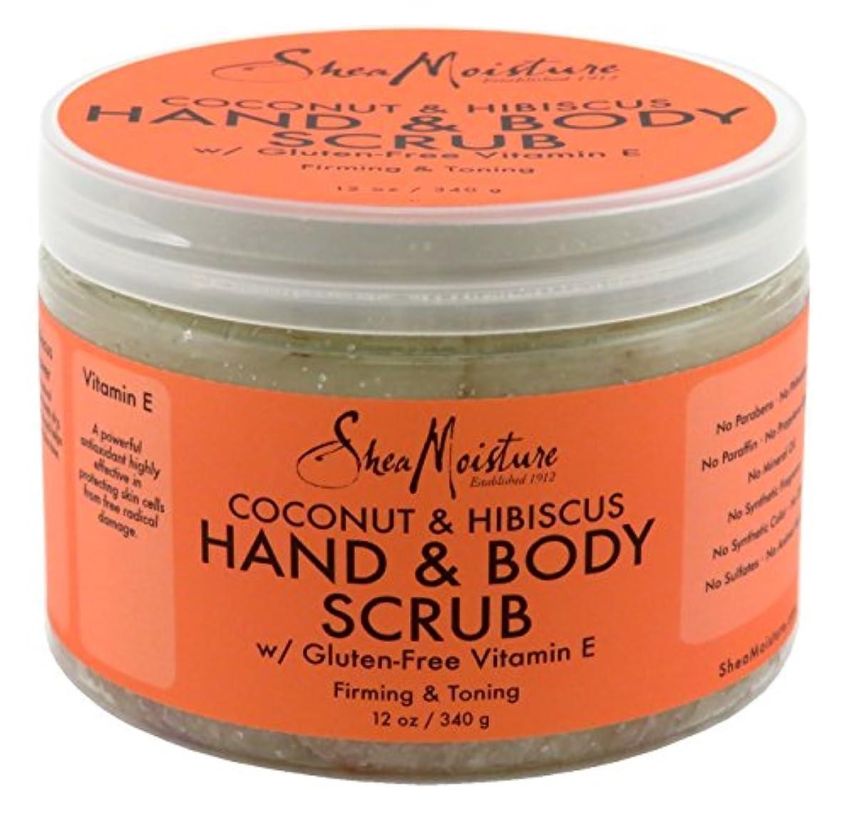 まつげ失業者通常Shea Moisture Body Scrub Coconut and Hibiscus by Shea Moisture