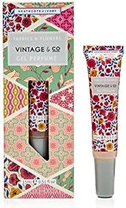 Vintage Fabrics and Flowers Gel Perfume, 40 g