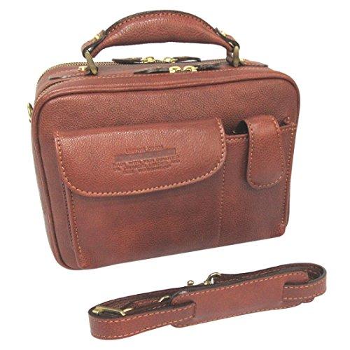 LuggageAOKI(青木鞄) [Lugard NEVADA]フロントポケット2WAYショルダーバッグ ブラウン(5076-50)