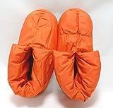 (グンゼ)GUNZE ルームシューズ ウチコレ レディース バウンドヒーター AUC560756.0 オレンジ 23-25