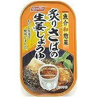 ニッスイ 炙りさばの生姜しょうゆ 100g×10 缶詰