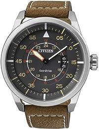 [シチズン]CITIZEN 腕時計 ECO-DRIVE AVIATOR POWER RESERVE エコドライブ アビエイター AW1360-12H メンズ [逆輸入]