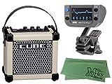 Roland ローランド - コンパクトサイズ ギターアンプ MICRO CUBE GX ホワイト (M-CUBE GXW) + KORG AW-OTG-POLY + マークスオリジナルクロス セット