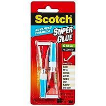 Scotch Advanced Formula Super Glue Gel AD122