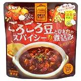 SSK DELIそうざい「ごろごろ豆とひき肉のスパイシー煮込み」(チリコンカン) 1人前(120g) (チリビーンズ)(チリソース煮)