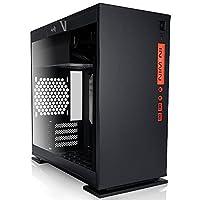 IN WIN 強化ガラス製サイドパネル採用 ミニタワーPCケース 301 ブラック (型番:IW-CF07B 301-Black)