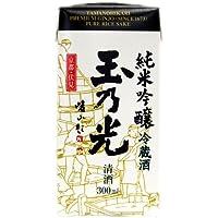 玉乃光 純米吟醸 紙パック 300ml×10個