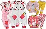 [VaenaitBaby]♪ウサギちゃん特集♪キッズ女の子ベビーブランケットスリーパーパジャマルームウェア新学期プレゼント