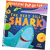 blesiya Reading for preschool -3d Pop Up Book – ヘルプキッズ幼児動物認知( Shark )