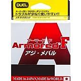 デュエル(DUEL) ライン: ARMORED F アジ・メバル 150M0.4号 O: オレンジ