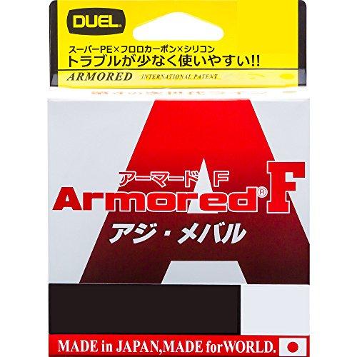 デュエル(DUEL) ライン: ARMORED F アジ・メバル 100M0.3号 MP: ミルキーピンク