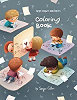 Alphabet - Graffiti: Coloring Book