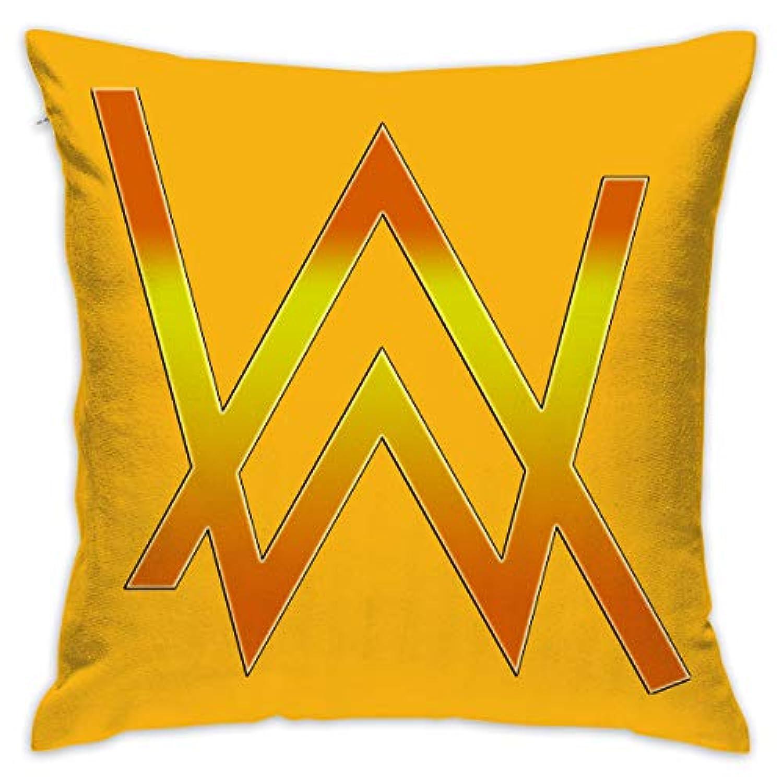ちひろ Alan Walker アラン ウォーカー パーカー 3 フルジップ 抱き枕 だきまくら クッション 座布団 柔らかい 贈り物 中身:綿 45 * 45cm