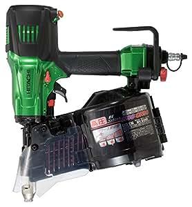 日立工機 高圧ロール釘打機 針金45~90mm シート45~50mm 品確法・2×4対応 改正JIS L90釘対応 グリーン NV90HR