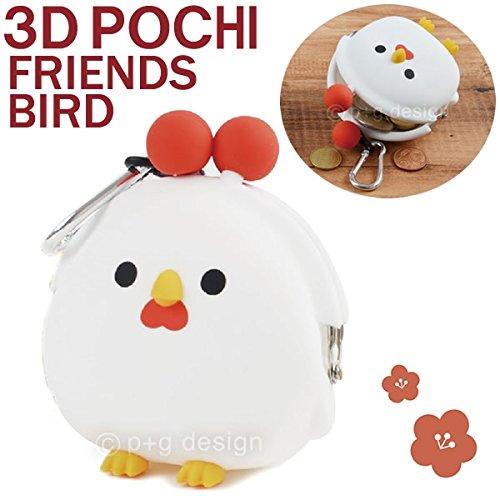 GMCトイズフィールド 3D POCHI FRIENDS BIRD (3D ポチフレンズ バード) コケコッコ PG-24801 PG-24801