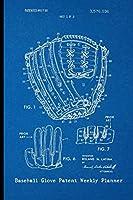 Baseball Glove Patent Weekly Planner