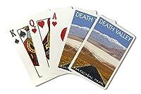 デスバレー国立公園、カリフォルニア–Highwayビュー( Playingカードデッキ–52カードPokerサイズwithジョーカー)