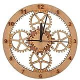 GIFT GARDEN 掛け時計 木製 可愛い アナログ おしゃれ 見やすい お祝い プレゼント