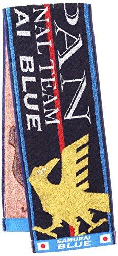(Jリーグエンタープライズ)J.LEAGUE ENTERPRISE サッカー 日本代表 観戦グッズ タオルマフラー JAPAN 11-54245 ND ブルー F