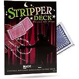 [マジック メーカー]Magic Makers Pro Brand Magic Red Stripper Deck Bridge Size 1188673 [並行輸入品]