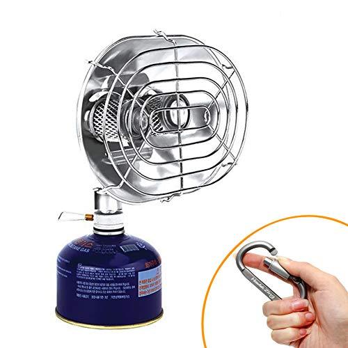 BRSキャンプヒーター、赤外線屋外暖房用ストーブ、ダブルバーナーストーブヒーター、ガスヒーター