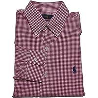 (ポロ ラルフローレン) 長袖 ボタンダウンシャツ ギンガムチェック ピンク Polo Ralph Lauren 1045 [並行輸入品]