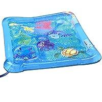 家庭用プール ビニールプール 大型 子供用 噴水 ファミリージャンボプール 【TIC-TEC】 (蓝)