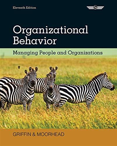 Download Organizational Behavior: Managing People and Organizations 1133626696