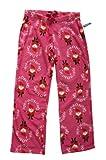 レディース プリント フリース ロング パンツ 329489 (ピンク・大きめサイズ) オールドネイビー画像①