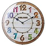 インターフォルム(INTERFORM INC.) 電波掛け時計 FORLI - フォルリ - WH ホワイト CL-8332WH