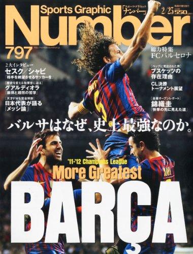 Sports Graphic Number (スポーツ・グラフィック ナンバー) 2012年 2/23号 [雑誌]の詳細を見る