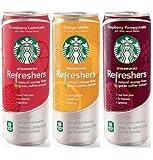 【アメリカスターバックス・日本未発売】 エナジードリンク リフレッシャーズ  3種のフレーバー 12オンス(約340ml) 【お得な12本セット】  【並行輸入品】 Starbucks Refreshers Natural Energy from green coffee extract 12packs  12once
