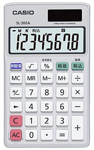 fed3b0407b CASIO 電卓 SL-300A-N : Amazon・楽天・ヤフー等の通販価格比較 [最安値 ...