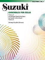 Suzuki Ensembles for Cello: Second and Third Cello Parts for Suzuki Cello School