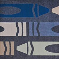 喜びのカーペット – ジャンボクレヨン – 複数のサイズ 5'4
