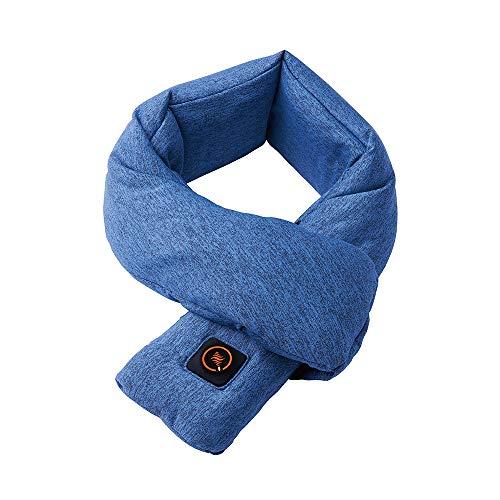 ドウシシャ ウェアラブルヒーター ネック 手洗いOK ブルー ピエリア WHU-N01 BL