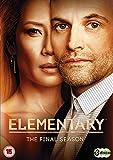 エレメンタリー ホームズ&ワトソン in NY シーズン7 [DVD-PAL方式 ※日本語無し](輸入版) -Elementary The Final Season-