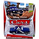 Disney Pixar CARS Brent Mustangburger with Headset