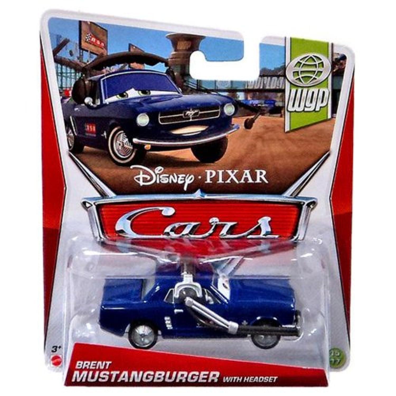 Disney Pixar CARS Brent Mustangburger with Headset