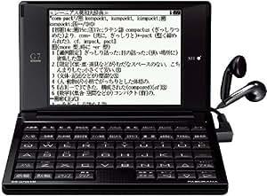 SII 電子辞書 PASORAMA ビジネスモデル SR-G7001M コンパクトサイズ 名刺ビューアー 研究社新和英大辞典