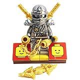 MinifigurePacks : Lego Ninjagoバンドル( 1) Zane Minifigure–チタンバリアント( 1) Figure Display Base ( 4) Figure Accessory..