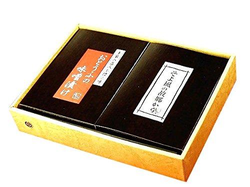 お豆腐の味噌漬け(もろみ漬け) (大) & そよ風の故郷から ギフトセット×2セット ふしみ 東洋のチーズと称される豆腐の味噌漬とご飯のおともにぴったりな3種の詰め合わせ