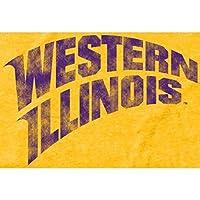 Fanatics Branded Western Illinois Leathernecks Yellow Classic Wordmark Tri-Blend T-Shirt スポーツ用品 M 【並行輸入品】