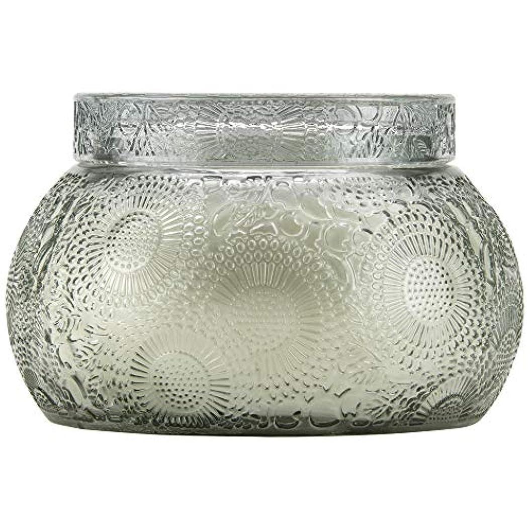カルシウムずっと表示VOLUSPA チャワングラスキャンドル French Cade Lavender フレンチケード&ラベンダー GLASS CANDLE ボルスパ