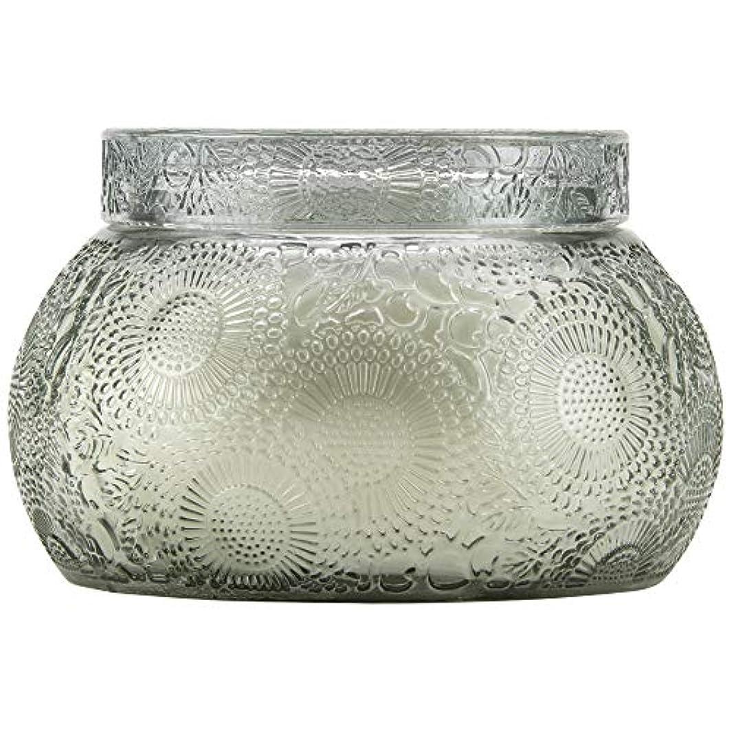 皮肉リラックス貢献するVOLUSPA チャワングラスキャンドル French Cade Lavender フレンチケード&ラベンダー GLASS CANDLE ボルスパ