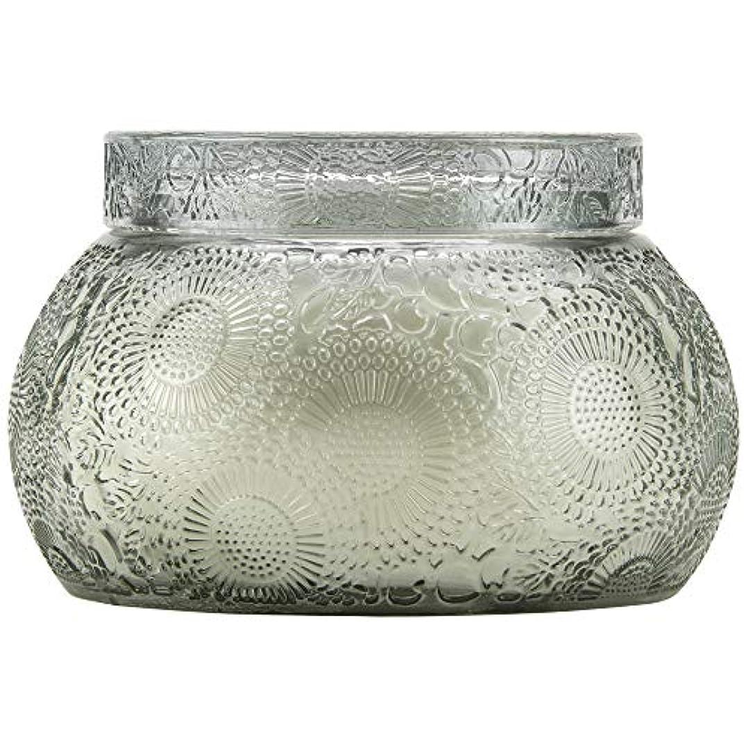 壮大な敬礼概してVOLUSPA チャワングラスキャンドル French Cade Lavender フレンチケード&ラベンダー GLASS CANDLE ボルスパ