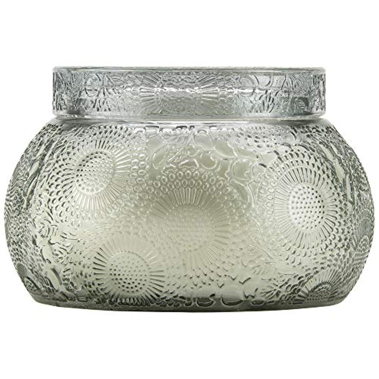 者マーク助言VOLUSPA チャワングラスキャンドル French Cade Lavender フレンチケード&ラベンダー GLASS CANDLE ボルスパ