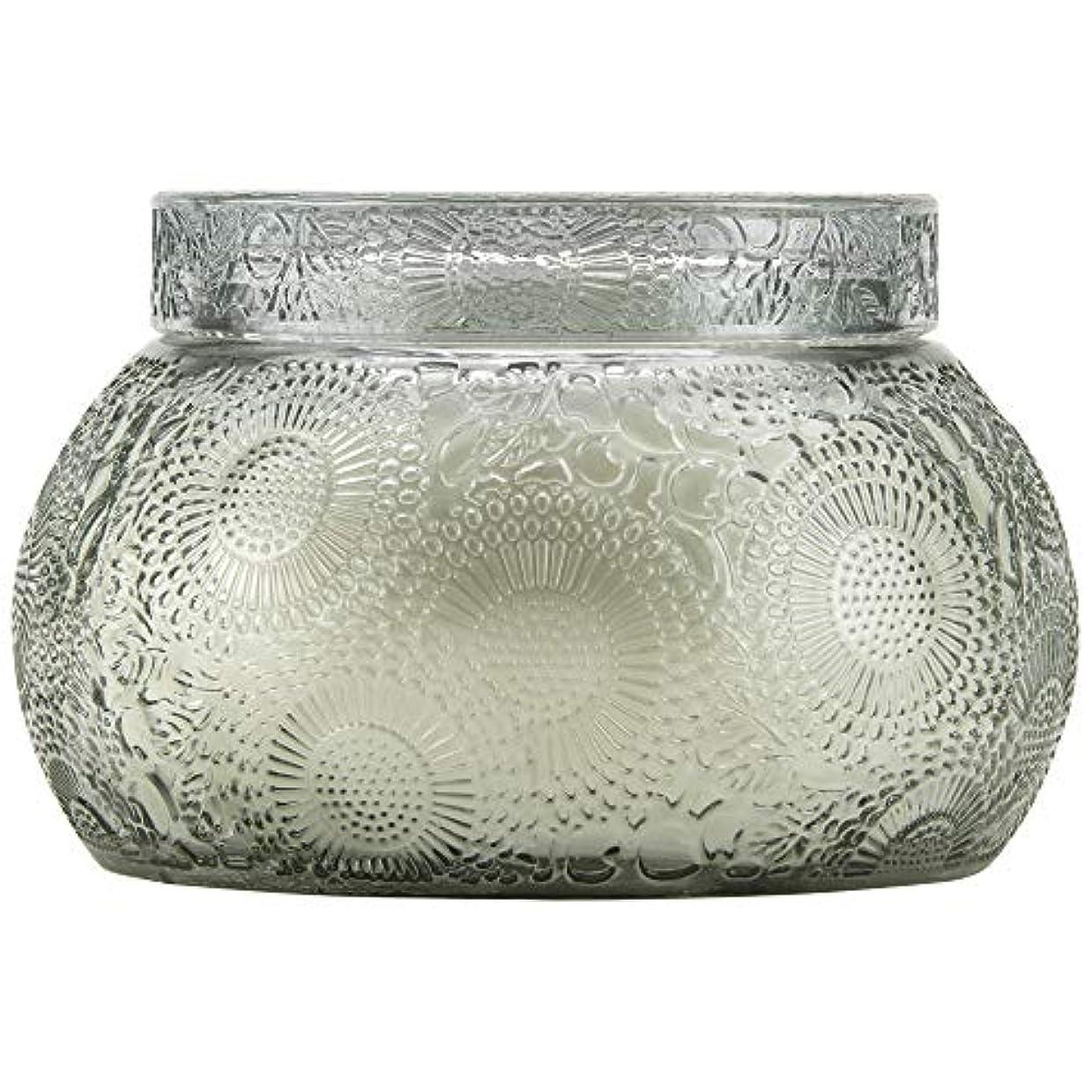対処浸食履歴書VOLUSPA チャワングラスキャンドル French Cade Lavender フレンチケード&ラベンダー GLASS CANDLE ボルスパ